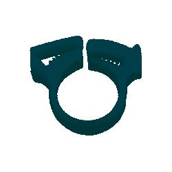 Collier de serrage tentacule pour Polaris 380