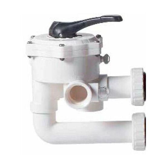 Vanne multivoies Cristal-flo Side 1P 1/2 - Pentair